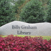 Billy Graham Library Entrance Sign
