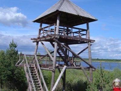 * Bird-watching Tower In Lubāns Wetlands
