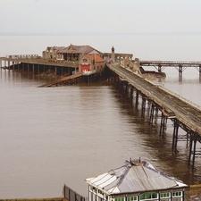 Birnbeck Pier And Island