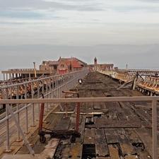 Birnbeck Pier Closed
