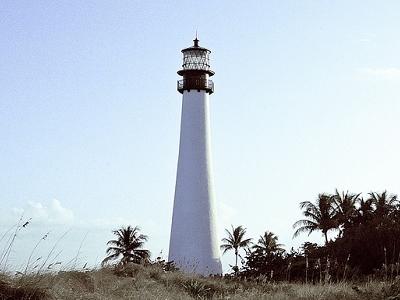 Biscayne FL - Cape Florida Lighthouse