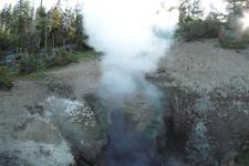 Black Dragon's Cauldron - Yellowstone - USA
