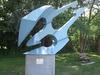 Blue  Angel  Scuplture  Stouffville On  Stouffville  Creek