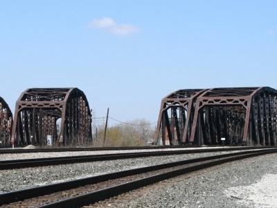 Blue  Island Railroad Bridges