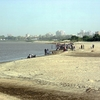 Blue Nile Beach @ Khartoum In Sudan