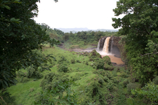 Blue Nile Falls From Far