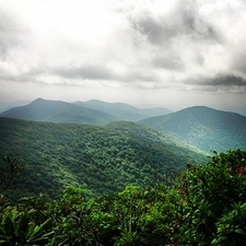 Blue Ridge Parkway Near Craggy Gardens NC