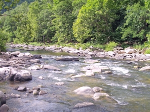 Bluestone río
