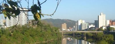 Blumenau And The Itaja Au River