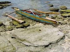 Boat Along Balicasag Island Coastline