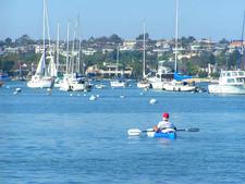 Boating At Balboa Beach