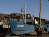 Boat Near Chile Chico