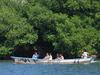 Boat On La Joya Lagoon