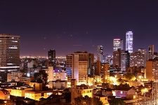 Bogota Night View - Colombia