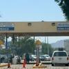 Border Crossing Between Sonoyta And Lukeville Arizona