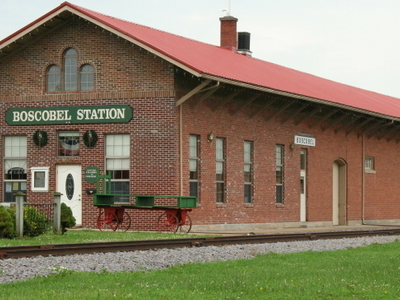 Boscobel Station