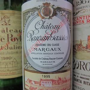 Bottle Of Chateau Rauzan Gassies