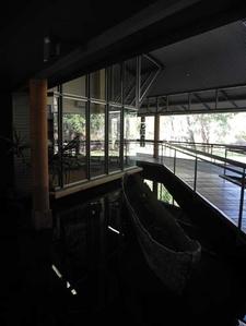 Bowali Visitor Center Canoe