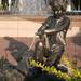 Boy Dog Fountain