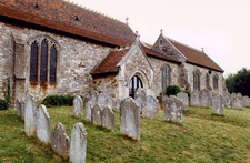 Brading Church Graveyard Isle Of Wight