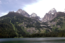 Bradley Lake Trailviews - Grand Tetons - Wyoming - USA