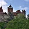 Bran Castle From South Side - Brasov Transylvania