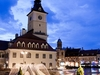 Brasov Council Square - Night View
