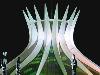 The Metropolitan Cathedral Of Brasilia