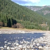 Breitenbush River In Willamette National Forest