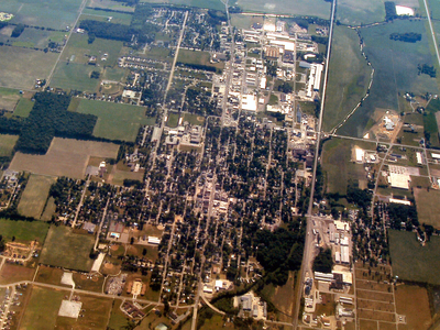 Bremen Indiana From The Air