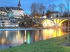 Bremgarten At Dawn - Reuss River