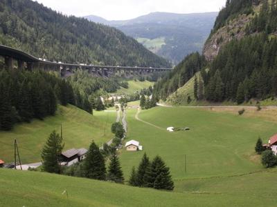 Brennerpass Nordrampe
