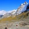 Breuil-Cervinia - Dans La Montée Au Theodulpass