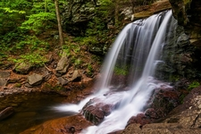 B. Reynolds Falls In Ricketts Glen State Park PA