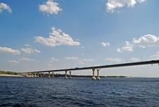 Bridge Across River Volga At Volgograd