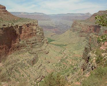 Bright Angel Point Trail View - Grand Canyon - Arizona - USA