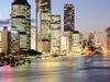 Brisbane  During  Twilight