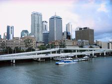 Brisbane View From Victoria Bridge