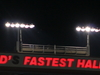 Worlds Fastest Half Mile Sign