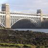 Brittania Bridge Train Crossing
