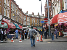 View Of Brixton Market