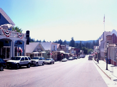 Broad Street Downtown Nevada City