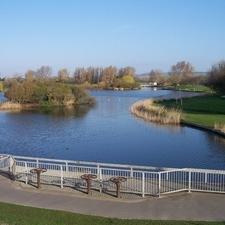 Lake At Brooklands Park