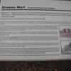 Browns Mart - Info Plaque