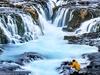 Bruarfoss Waterfalls - Iceland