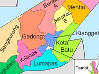 Brunei and Muara