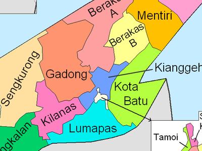 Brunei And  Muara Mukims
