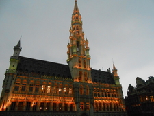 Lighting In Brussels Town Hall