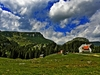 Bucegi Natural Park In Carpathians