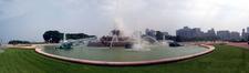 Buckingham Fountain Panoramic View